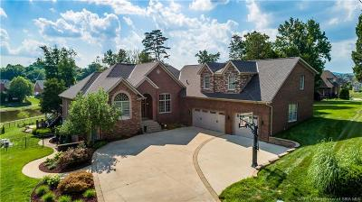New Albany Single Family Home For Sale: 3001 Timber Wolf Court