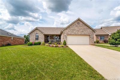 Jeffersonville Single Family Home For Sale: 3209 Rosemont Drive
