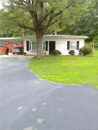 Floyd County Single Family Home For Sale: 416 Broekers Lane