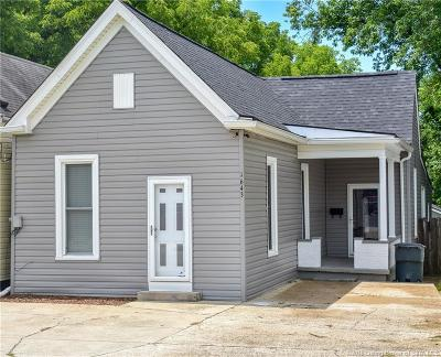 New Albany IN Single Family Home For Sale: $76,000