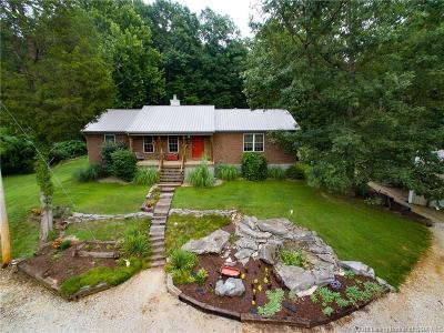 Crawford County Single Family Home For Sale: 7901 E State Road 64