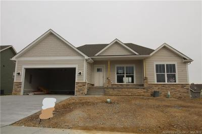 Sellersburg Single Family Home For Sale: 5403 - Lot 218 Catalina Trail