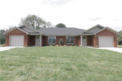 Jeffersonville Single Family Home For Sale: 1002 Hadley Drive