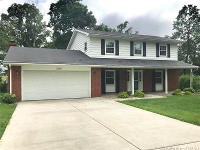 Floyds Knobs Single Family Home For Sale: 3329 Buffalo Trail