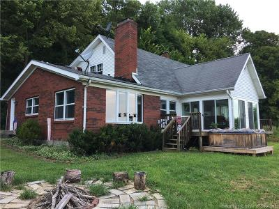 New Albany Single Family Home For Sale: 5653 Daily Road