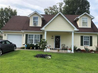 New Albany Single Family Home For Sale: 3847 Carver Street