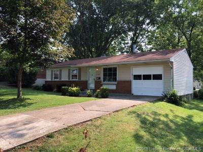 New Albany Single Family Home For Sale: 2584 E Robin Road