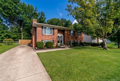 Jeffersonville Single Family Home For Sale: 2007 Snyder Drive