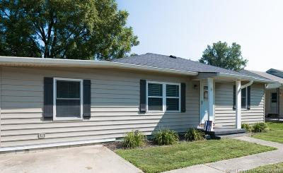 New Albany IN Single Family Home For Sale: $140,000