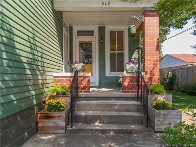 Jeffersonville Single Family Home For Sale: 815 E 7th Street