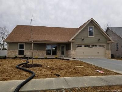 Jeffersonville Single Family Home For Sale: 5714 Sugar Berry Lane
