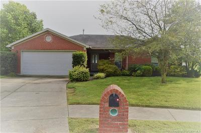 Jeffersonville Single Family Home For Sale: 2502 Goldeneye Court