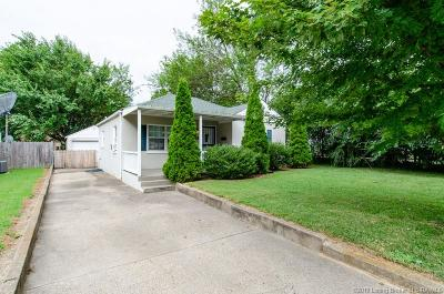 Jeffersonville Single Family Home For Sale: 809 Cherry Drive