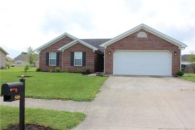 Jeffersonville Single Family Home For Sale: 506 Tristin Trail
