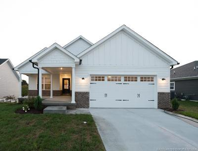 Jeffersonville Single Family Home For Sale: 3516 Edgewood Village Drive
