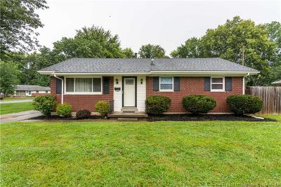 Jeffersonville Single Family Home For Sale: 1915 Joy Court
