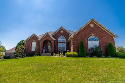Sellersburg Single Family Home For Sale: 12305 Pinehurst Court