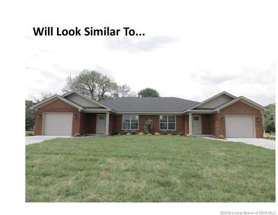 Jeffersonville Single Family Home For Sale: 1008 Hadley Drive