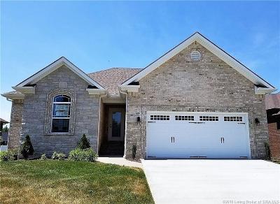 Jeffersonville Single Family Home For Sale: 5709 Sugar Berry Lane