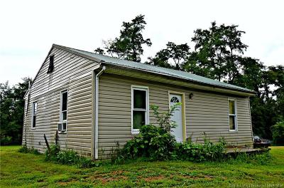 Scott County Single Family Home For Sale: 5380 S Slate Ford Road