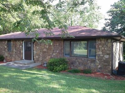 Lanesville Single Family Home For Sale: 7520 Rolling Hills Lane