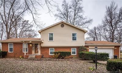 Jeffersonville Single Family Home For Sale: 4924 Emerick Drive