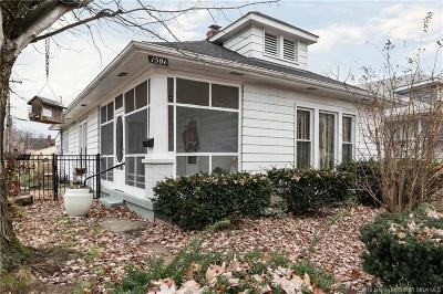 New Albany IN Single Family Home For Sale: $126,900