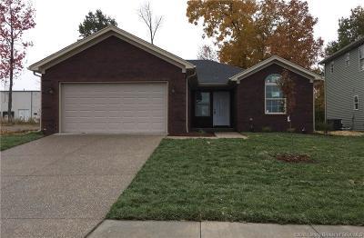 Sellersburg Single Family Home For Sale: 7011 Meyer Loop 46mm
