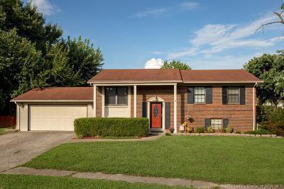 Clarksville Single Family Home For Sale: 2208 Lombardy Drive