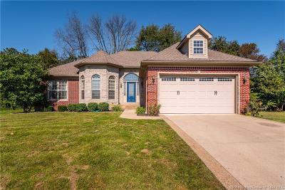 Sellersburg Single Family Home For Sale: 4411 Chickasawhaw Drive