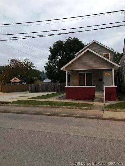 New Albany IN Single Family Home For Sale: $128,000