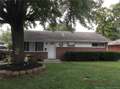 Jeffersonville Single Family Home For Sale: 1017 Sharon Drive