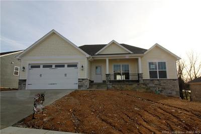 Georgetown Single Family Home For Sale: 6108 - Lot 224 Deer Trace Court