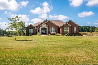 Sellersburg Single Family Home For Sale: 9803 County Line Road