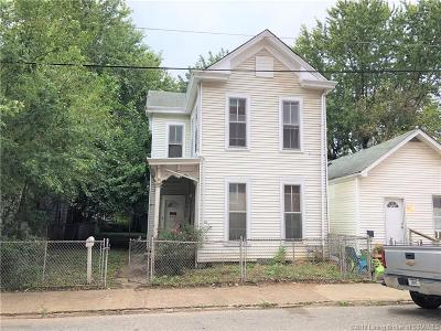 New Albany IN Single Family Home For Sale: $65,000