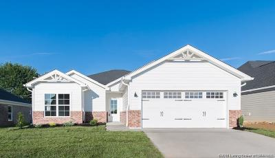 Jeffersonville Single Family Home For Sale: 3507 Edgewood Village Drive - Lot 4