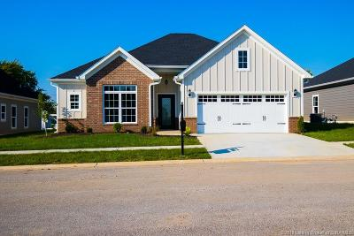 Jeffersonville Single Family Home For Sale: 3511 Edgewood Village Drive - Lot 6