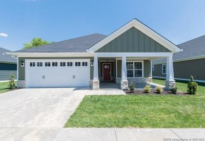Jeffersonville Single Family Home For Sale: 3512 Edgewood Village Drive - Lot 23
