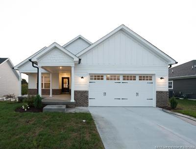 Jeffersonville Single Family Home For Sale: 3516 Edgewood Village Drive - Lot 21