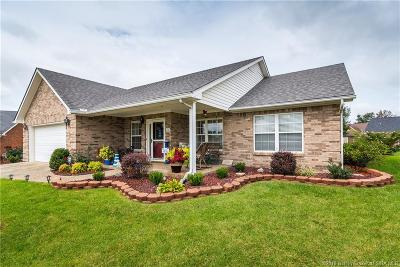 Jeffersonville Single Family Home For Sale: 4406 Black Slate Circle