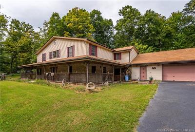 Floyds Knobs Single Family Home For Sale: 3338 E Riley Road