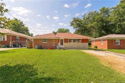 Clarksville Single Family Home For Sale: 3129 Taylor Drive