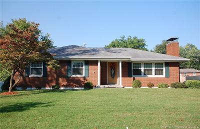 New Albany Single Family Home For Sale: 1615 Slate Run Road