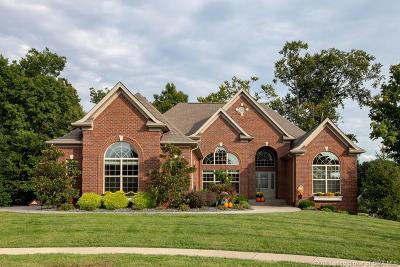 Floyds Knobs Single Family Home For Sale: 3702 Melrose Court