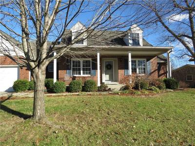 New Albany Single Family Home For Sale: 1121 Creekview Circle