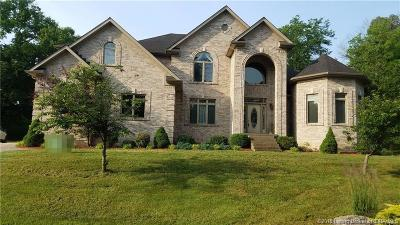 Jeffersonville Single Family Home For Sale: 1705 Fox Hollow Way