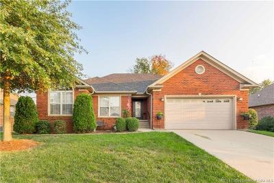 Sellersburg Single Family Home For Sale: 11522 Yorktown Boulevard