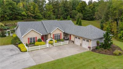 Clark County Single Family Home For Sale: 4007 Ebenezer Church Road