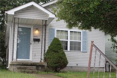 New Albany Single Family Home For Sale: 341 Jay Street