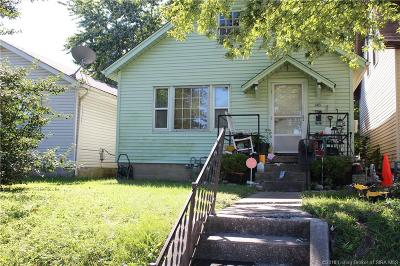 New Albany Single Family Home For Sale: 343 Jay Street